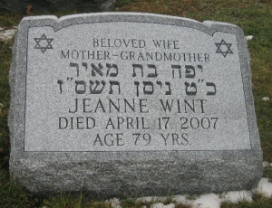Different Types Of Jewish Memorials