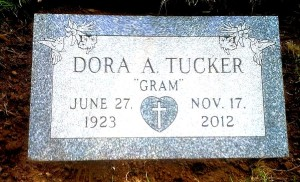 Polished individual flat granite memorial. Click to enlarge and again to maximize.